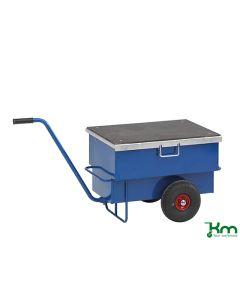 Værktøjsvogn med håndtag. Låsbar. 160 l