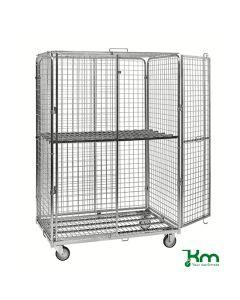 Hylde til rullecontainer (ekskl.). L1200 mm