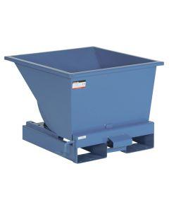 Tipcontainer åben. 150 l. RAL5019 Capri blue