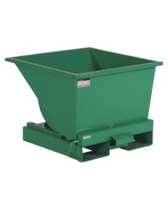Tipcontainer åben. 150 l. RAL6032 Signal green