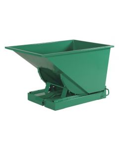Tipcontainer åben 300 l. RAL6032 Signal green