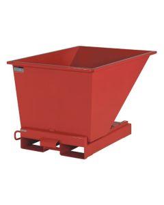Tipcontainer åben. 300 l. RAL3020 Traffic red