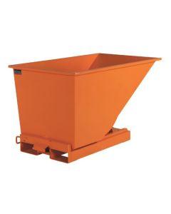 Tipcontainer åben. 300 l. RAL2008 Bright red orange