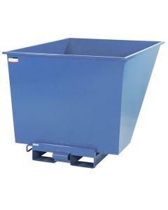 Tipcontainer åben. 1100 l. RAL5019 Capri blue