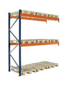 Pallereol tillægsfag. H2500 x L2725 mm / 3000 kg