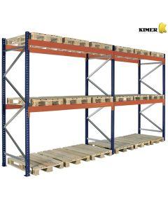 Pallereol 2 fag. H3000 x L5650 mm / 3000 kg pr. bjælkepar