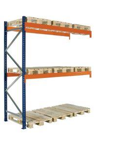 Pallereol tillægsfag. H4000 x L2725 mm / 1500 kg