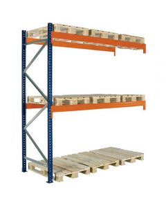 Pallereol tillægsfag. H4000 x L2725 mm / 3000 kg