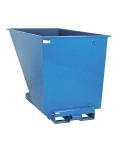 Tipcontainer åben, 1600 l. RAL5019 Capri blue