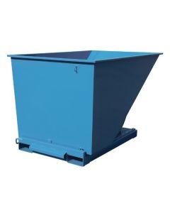 Tipcontainer åben, 2000 l. RAL5019 Capri blue