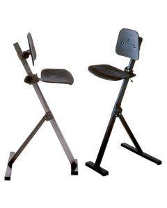Ståstøttestol. Sæde / ryg formstøbt plast