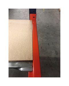 Pallereol Bjælke L1850 mm 1500 kg / pr. bjælkepar