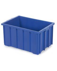 1/4 pallekasse / plastkasse H320 mm. Blå