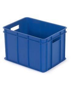 1/8 pallekasse / plastkasse. Blå