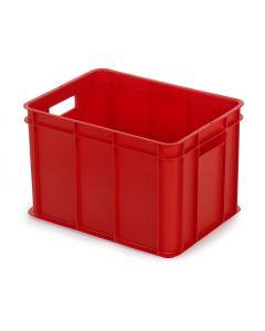 1/8 pallekasse / plastkasse. Rød