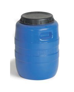 Tønde, plast. 55 l. Blå