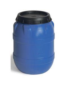 Tønde, plast. 80 l. Blå