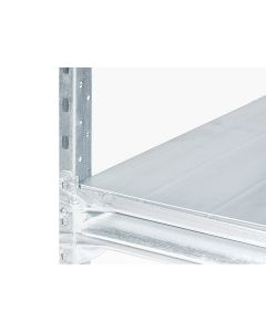 Lagerreol stål pladehylde L1800 x D0800 mm
