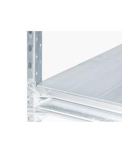 Lagerreol stål pladehylde L2400 x D0600 mm