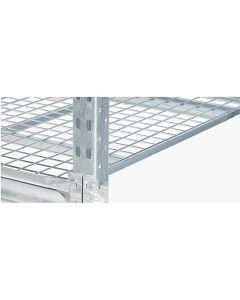 Lagerreol stål nethylde L2400 x D1000 mm