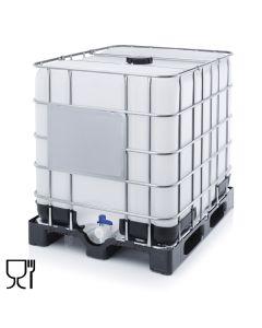 Palletank H1160 x B1200 x D1000 mm. Plast (Auer)