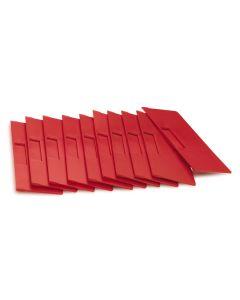 Mellemvæg tværgående. (H140 x B232 mm)*. Rød