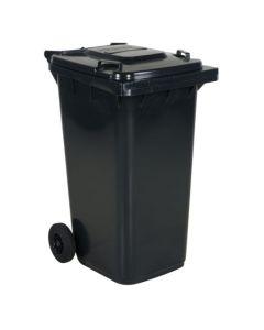 Affaldsbeholder 240 l. Grå med gråt låg