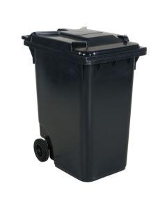 Affaldsbeholder 360 l. Grå med gråt låg