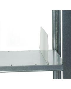 HI280 skilleplade H140 x D500 mm. Hvid