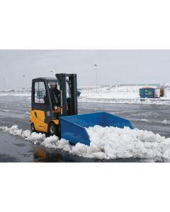 Truckskovl 1000 l. Blå. 1500 kg