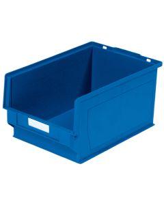 Plastkasse 0,6 l. Blå