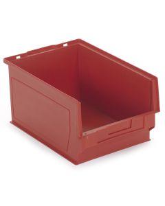 Plastkasse 0,6 l. Rød