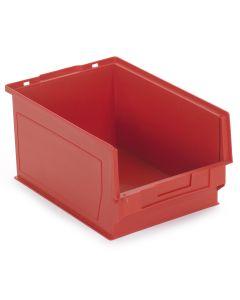 Plastkasse 17,0 l. Rød