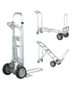 Sækkevogn, kombi. 250/350 kg. Aluminum