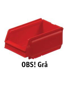 Forrådsbakke B105 mm. Genb. grå. Arca (9075)
