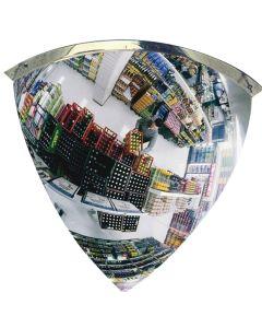 Kuppelspejl 90*. Ø1000 mm. Indendørs