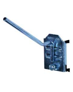 Enkelt krog vinklet L100 mm Ø5 mm. 3 stk.