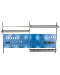Påbygningssæt til arbejdsbord L1600 mm - Produktnr. 743305
