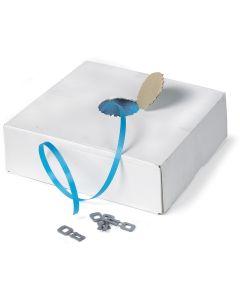 PP bånd fra kasse. 12 x 0,55 mm. L1000 m