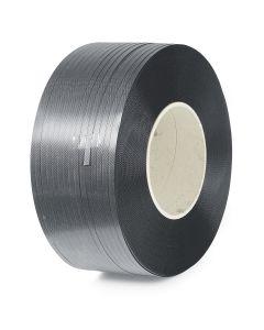 PP bånd på rulle. 12 x 0,55 mm. 2 x 3000 m