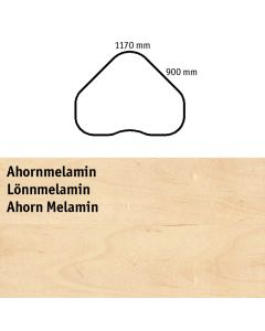 Bordplade. Ahorn-melamin